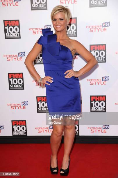 Kerry Katona attends the FHM 100 Sexiest Women In The World Launch Party at One Marylebone on May 4 2011 in London United Kingdom