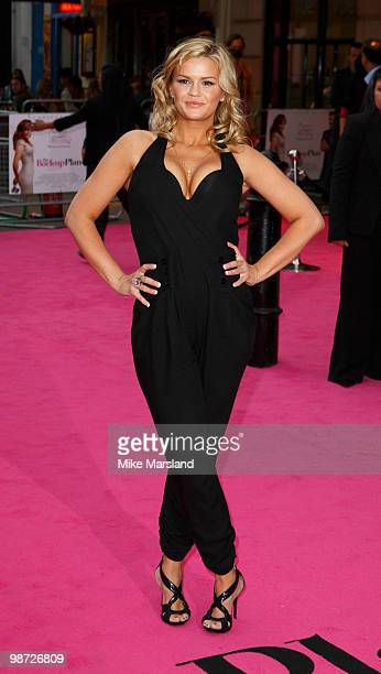 Kerry Katona attends the Gala Premiere of The BackUp Plan at the Vue Leicester Square on on April 28 2010 in London England