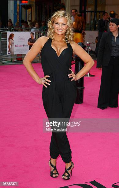 Kerry Katona attends the Gala Premiere of The BackUp Plan at Vue Leicester Square on April 28 2010 in London England on April 28 2010 in London...