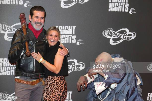 Kerry Katona attends the launch of Thorpe Park Resort's annual Fright Nights on October 4 2018 in Chertsey England