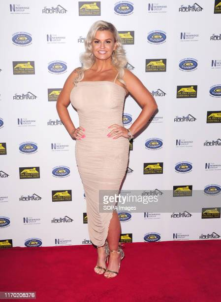 Kerry Katona attends the Paul Strank Charity Gala supporting Shooting Star Children's Hospices Rays of Sunshine Charity at the Bank of England Sports...