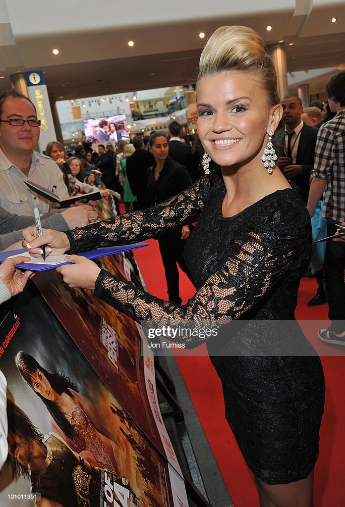 Kerry Katona attends the 'Prince Of Persia: The Sands Of Time' world premiere at the Vue Westfield on May 9, 2010 in London, England.
