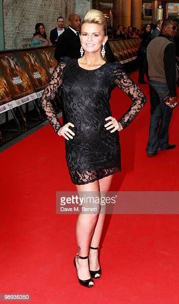 Kerry Katona attends the World film premiere of 'Prince Of Persia', at Vue Westfield on May 9, 2010 in London, England.