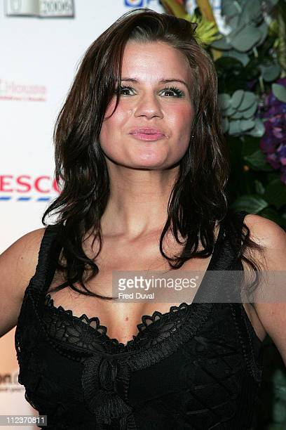 Kerry Katona during British Book Awards 2006 Arrivals at Grosvenor House in London Great Britain