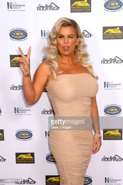Kerry Katona during the Paul Strank Charity Gala at the Bank of England Sports Centre on September 21 2019 in London England