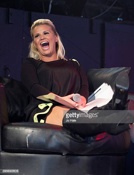 Kerry Katona judges GAY Porn Idol at GAY Heaven on August 25 2016 in London England