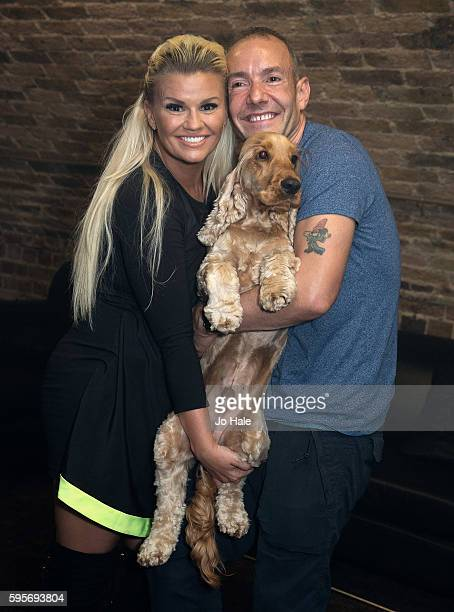 Kerry Katona judges GAY Porn Idol pictured with Jeremy Joseph and Jacob at GAY Heaven on August 25 2016 in London England