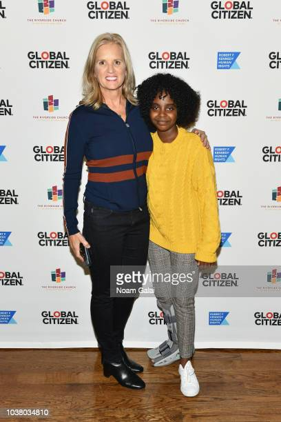 Kerry Kennedy and Naomi Wadler attend Global Citizen Week The Spirit Of A Movement at Riverside Church on September 22 2018 in New York City