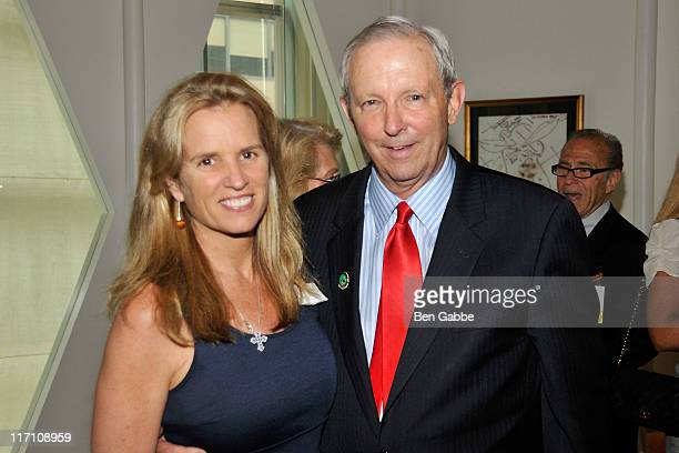 Kerry Kennedy and Sam Beard attend the 2011 Jefferson Awards for Public Service at Le Cirque on June 22 2011 in New York City