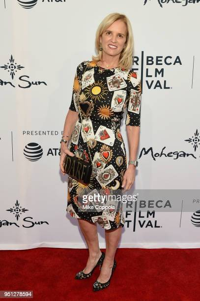 Kerry Kennedy attends a screening of Bobby Kennedy For President during the 2018 Tribeca Film Festival at SVA Theatre on April 25 2018 in New York...