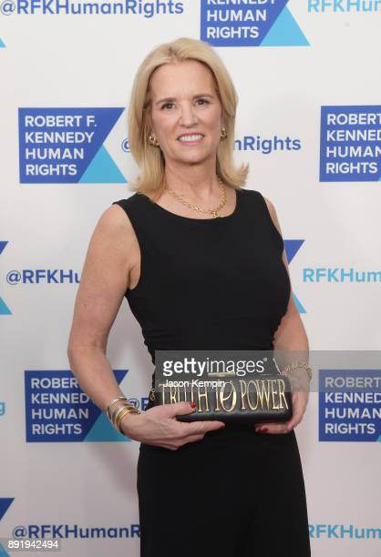 Kerry Kennedy attends Robert F Kennedy Human Rights Hosts Annual Ripple Of Hope Awards Dinner on December 13 2017 in New York City