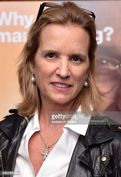 Kerry Kennedy attends the The Unknown Known screening at Museum of Art and Design on March 25 2014 in New York City