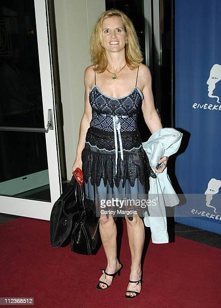 Kerry Kennedy during Riverkeeper Gala Honoring Viacom's Tom Freston at Pier 60 at Chelsea Piers in New York City New York United States