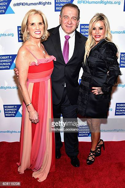 Kerry Kennedy Honoree Scott Minerd and Vice President of Guggenheim Partners Gail Evertz attend RFK Human Rights' Ripple of Hope Awards Honoring VP...