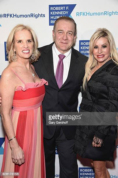 Kerry Kennedy Honoree Scott Minerd and Vice President of Guggenheim Partners Gail Evertz attend the 2016 Robert F Kennedy Human Rights' Ripple Of...