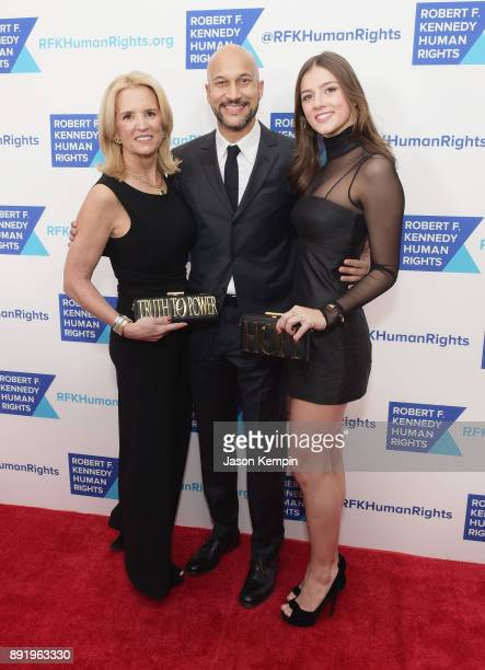 Kerry Kennedy KeeganMichael Key and Michaela Kennedy Cuomo attend Robert F Kennedy Human Rights Hosts Annual Ripple Of Hope Awards Dinner on December...