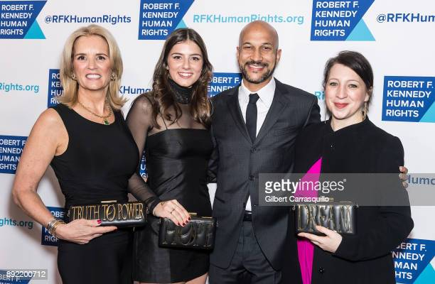 Kerry Kennedy Michaela Kennedy Cuomo KeeganMichael Key and Elisa Pugliese attend Robert F Kennedy Human Rights Hosts Annual Ripple Of Hope Awards...