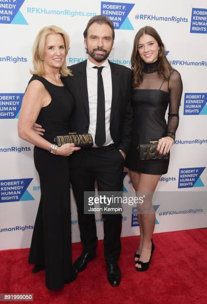 Kerry Kennedy Olivier Bernoux Michaela Kennedy Cuomo attends Robert F Kennedy Human Rights Hosts Annual Ripple Of Hope Awards Dinner on December 13...