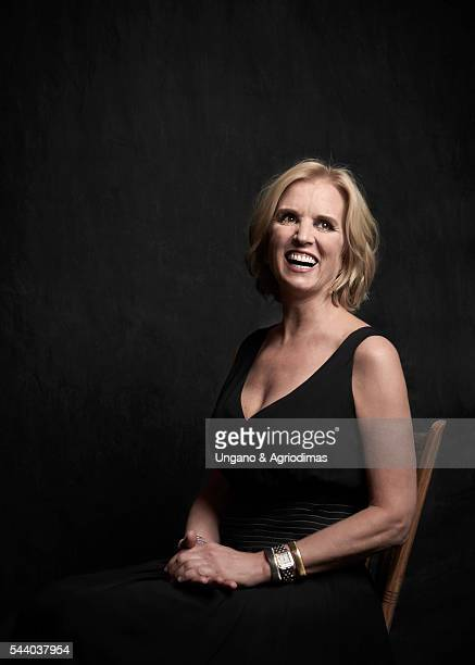 Kerry Kennedy poses for a portrait at Logo's Trailblazer Honors on June 23 in the Cathedral of St John the Divine in New York City