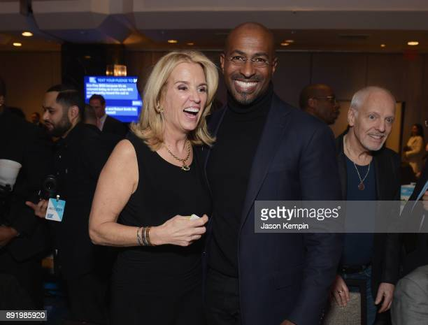 Kerry Kennedy Van Jones and Peter Frampton attend Robert F Kennedy Human Rights Hosts Annual Ripple Of Hope Awards Dinner on December 13 2017 in New...