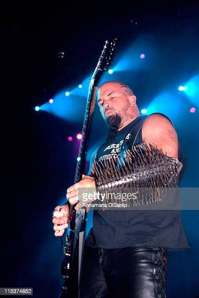 Kerry King / Guitarist of Slayer during Slayer Live at San Diego in San Diego California United States