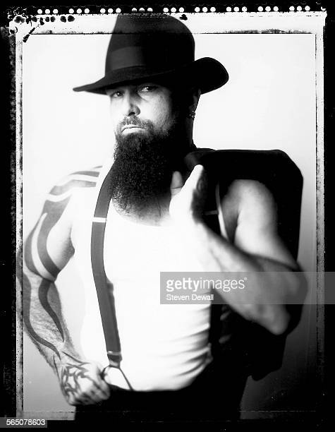 Kerry King of Slayer poses for a portrait in Los Angeles California United States 9th June 2000