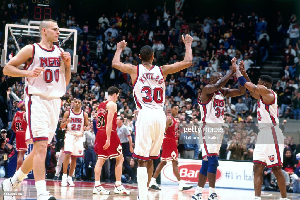 Kerry Kittles  30 of the New Jersey Nets reacts during a game played on  March 29d4cb782