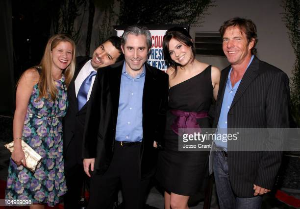 Kerry Kohansky Exec Prod Andrew Miano Producer Paul Weitz Writer Director Mandy Moore and Dennis Quaid