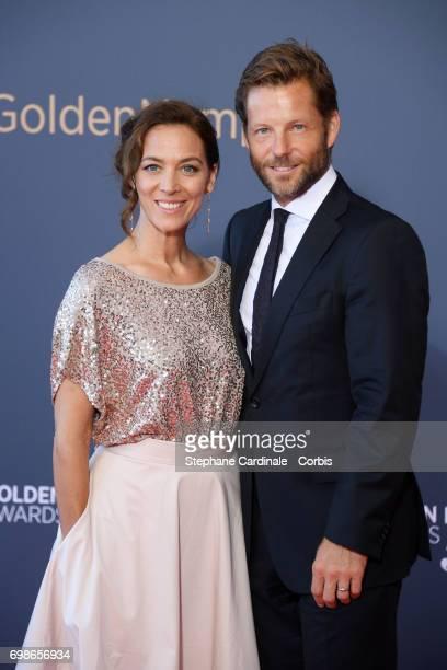 Kerry Norton and Jamie Bamber attend the 57th Monte Carlo TV Festival Closing Ceremony on June 20 2017 in MonteCarlo Monaco