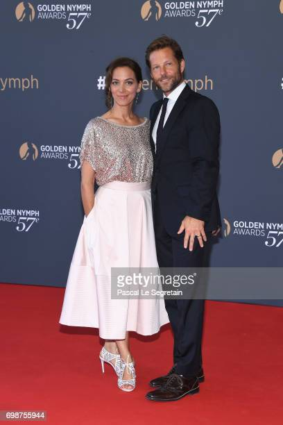 Kerry Norton and Jamie Bamber attend the closing ceremony of the 57th Monte Carlo TV Festival on June 20, 2017 in Monte-Carlo, Monaco.