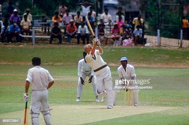 Kerry O'Keeffe batting for Australia during the tour match between Trinidad and Tobago and Australians at Pointe-a-Pierre, Trinidad, 19th March 1973....