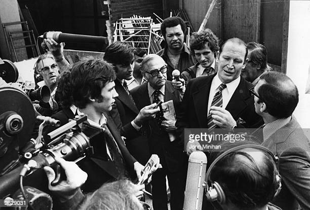 Kerry Packer Australian newspaper proprietor and founder of World Series Cricket 1977