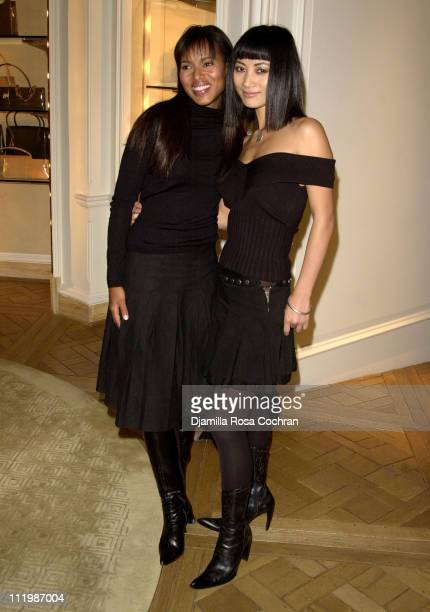 Kerry Washington and Bai Ling during Allure Magazine Reception For Release of 'Her Style' at Bergdorf Goodman in New York City New York United States