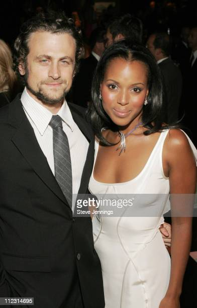Kerry Washington and fiance David Moscow during Macy's Passport 2005 Gala with Movado's Kerry Washington at Herbst & Festival Pavilions - Fort Mason...