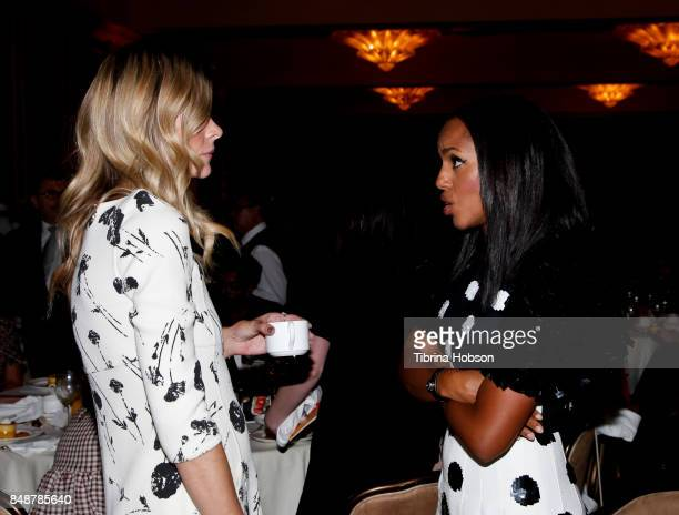 Kerry Washington and Jaime King attend the 6th Annual Women Making History Awards at The Beverly Hilton Hotel on September 16 2017 in Beverly Hills...