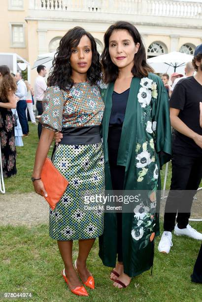 Kerry Washington and Jessie Ware attend as Spotify and Hulu host a night for creators artists and innovators during Cannes Lions 2018 at Chateau...