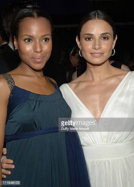 Kerry Washington and Mia Maestro during New York City Ballet Presents the World Premiere of Peter Martins' Full-Length Production of Romeo + Juliet...