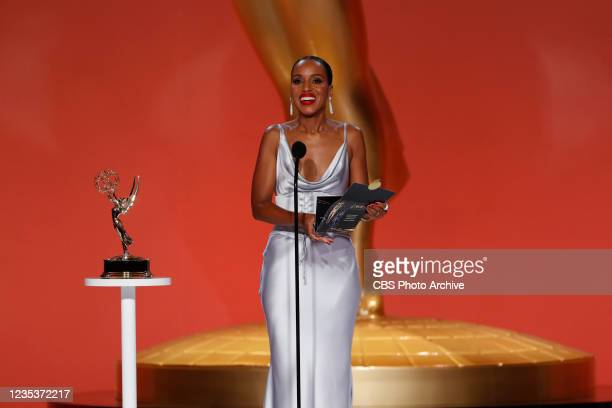 Kerry Washington appears at the 73RD EMMY AWARDS, broadcast Sunday, Sept. 19 on the CBS Television Network and available to stream live and on demand...