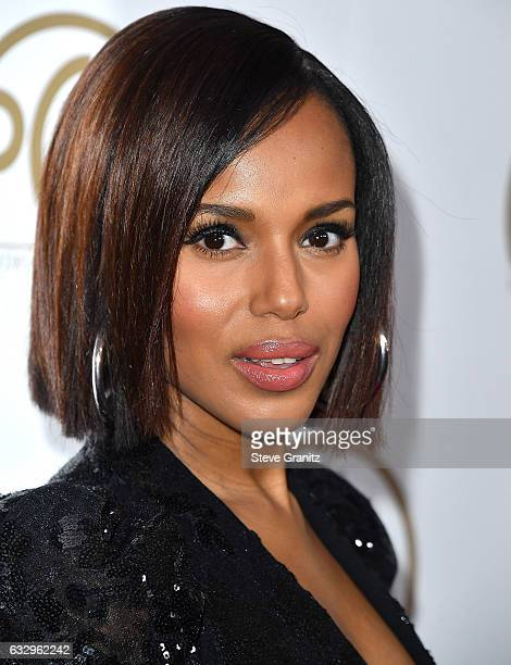 Kerry Washington arrives at the 28th Annual Producers Guild Awards at The Beverly Hilton Hotel on January 28 2017 in Beverly Hills California