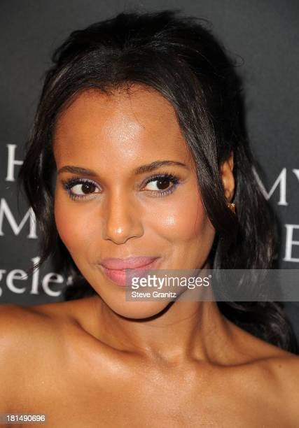 Kerry Washington arrives at the BAFTA Los Angeles TV Tea at SLS Hotel at Beverly Hills on September 21 2013 in Los Angeles California