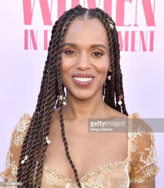 Kerry Washington arrives at The Hollywood Reporter's Annual Women in Entertainment Breakfast Gala at Milk Studios on December 11, 2019 in Hollywood,...
