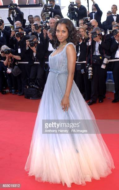 Kerry Washington arrives for the premiere of Zodiac at the Palais De Festival Picture date Thursday 17 May 2007 Photo credit should read Anthony...