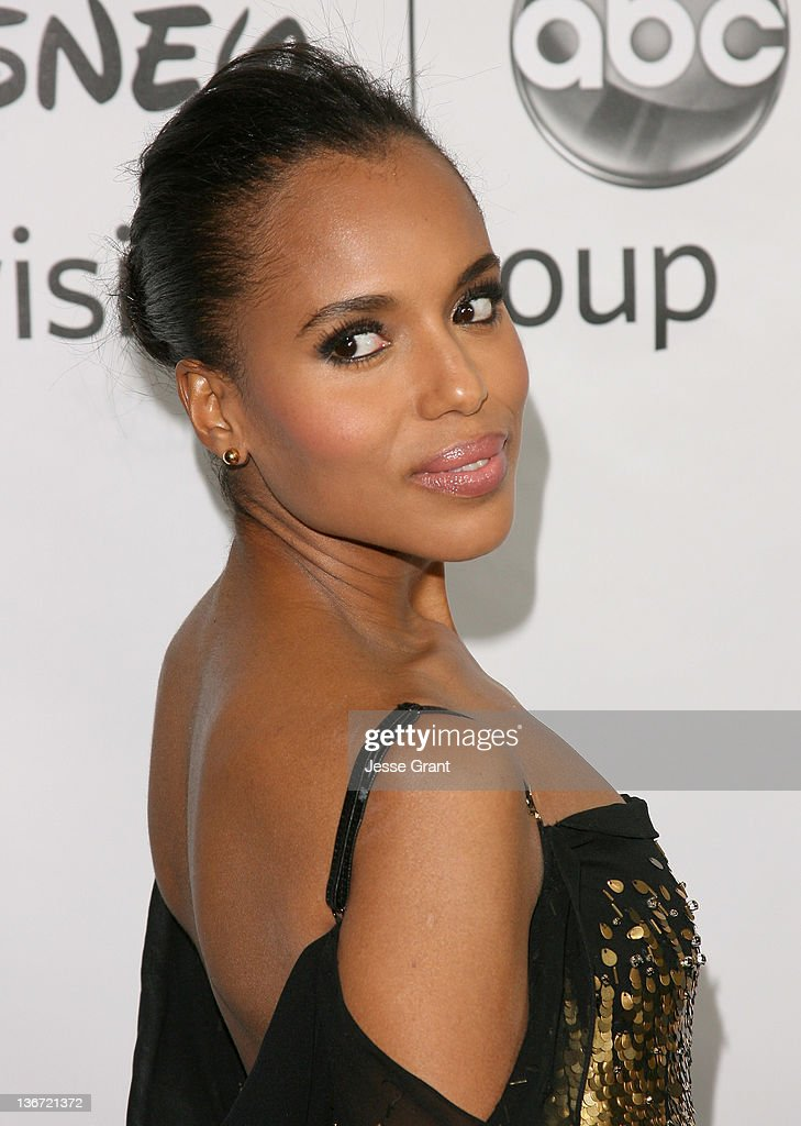 Kerry Washington arrives to Disney ABC Television Group's 'TCA Winter Press Tour' at the Langham Huntington Hotel on January 10, 2012 in Pasadena, California.