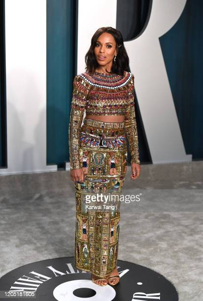 Kerry Washington arriving for the 2020 Vanity Fair Oscar Party Hosted By Radhika Jones at the Wallis Annenberg Center for the Performing Arts on...