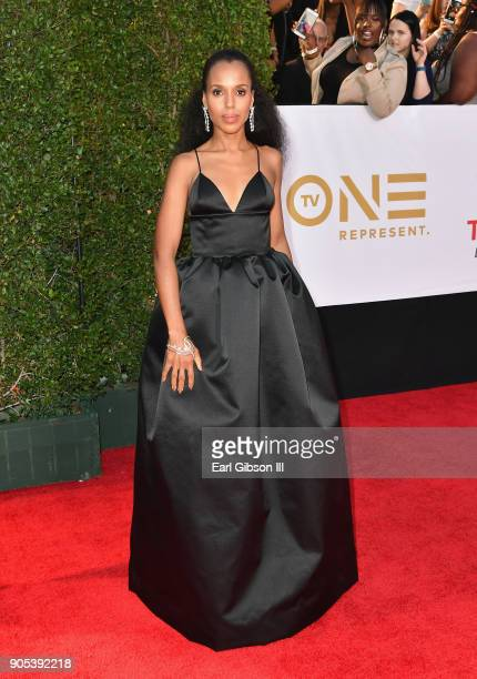 Kerry Washington at the 49th NAACP Image Awards on January 15 2018 in Pasadena California