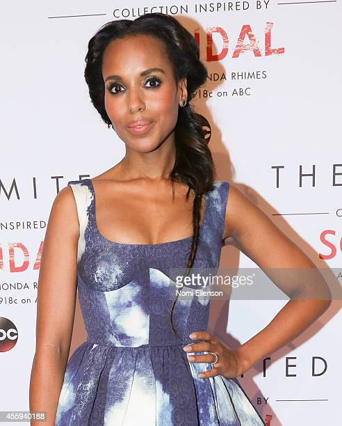 Kerry Washington at The Limited Collection Inspired by Scandal Launch Event at IAC Building on September 22, 2014 in New York City.