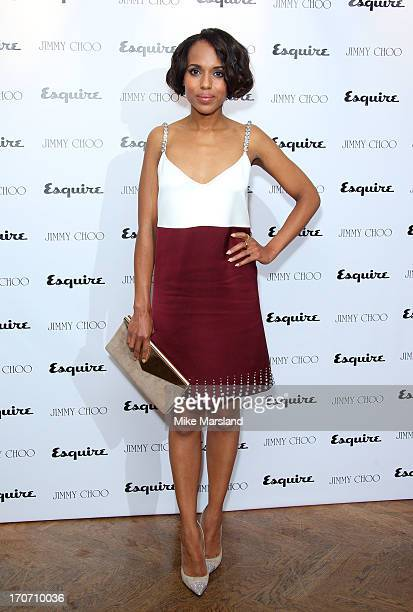 Kerry Washington attends a party hosted by Jimmy Choo & Esquire during the London Collections SS14 on June 16, 2013 in London, England.