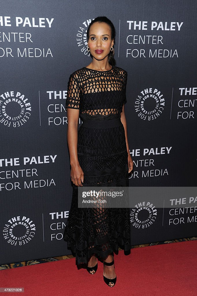 Kerry Washington attends A Tribute To African-American Achievements In Television hosted by The Paley Center For Media at Cipriani Wall Street on May 13, 2015 in New York City.