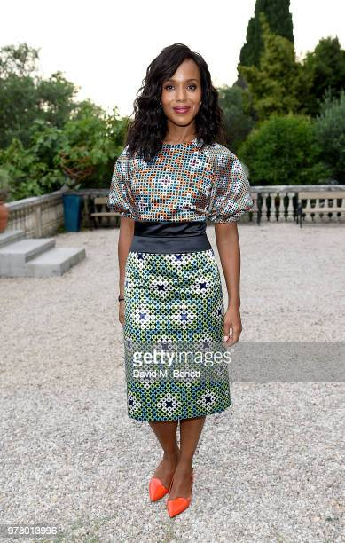 Kerry Washington attends as Spotify and Hulu host a night for creators artists and innovators during Cannes Lions 2018 at Chateau Saint George on...