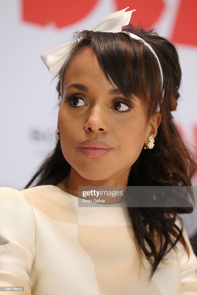 Kerry Washington attends 'Django Unchained' Berlin Photocall at Hotel de Rome on January 8, 2013 in Berlin, Germany.